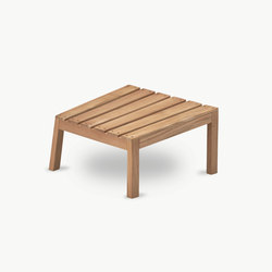 Between Lines Deck Stool | Gartenhocker | Skagerak