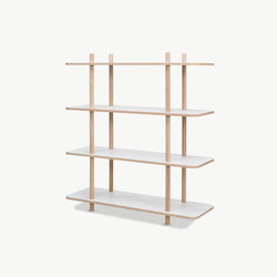 DO Shelf System | 4 shelves | Shelving | Skagerak