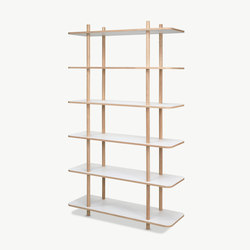 DO Shelf System | 6 shelves | Regale | Skagerak
