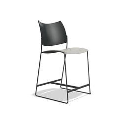 Curvy Barstool 1289/06 | Bar stools | Casala