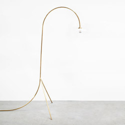 standing lamp | n°1 brass | Lampade piantana | valerie_objects