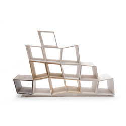 Efi bookshelves | cubes bookshelves | Scaffali | Piegatto