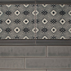 New Embossed Series | Baldosas | Pratt & Larson Ceramics
