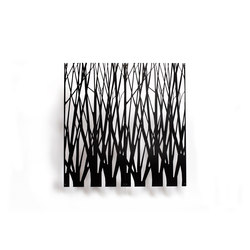 Organic screens | branches | Space dividers | Piegatto