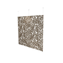 Organic screens | crackle | Space dividers | Piegatto