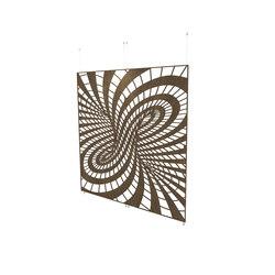 Parametric screens | torus | Sound absorbing suspended panels | Piegatto