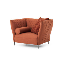 Quilt | Armchair | Lounge chairs | Saba Italia