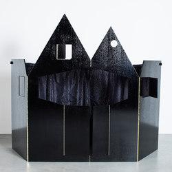 puppet theatre | black | Jouets | valerie_objects