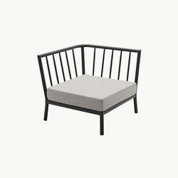 Tradition Corner Module | Garden armchairs | Skagerak