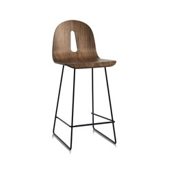 Gotham Woody Sled | SG 65 | Bar stools | CHAIRS & MORE