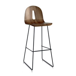 Gotham Woody Sled | SG 80 | Bar stools | CHAIRS & MORE