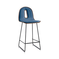 Gotham Woody Sled | SG 65 I | Tabourets de bar | CHAIRS & MORE SRL