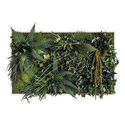 plant picture | jungle 100x60cm | Pareti vegetali | styleGREEN