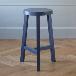 Lonna bar stooll | Oak Blue | Barhocker | Made by Choice