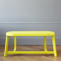 Lonna bench | Oak Yellow | Sitzbänke | Made by Choice