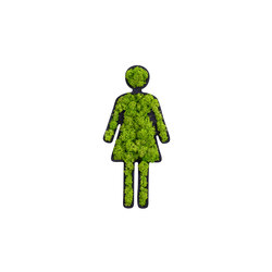 "pictogram | toilet sign ""woman"" 25 cm 