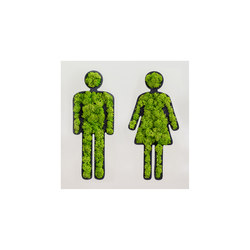 "pictogram | toilet sign "" couple"" 25 cm 