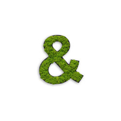 pictogram | special characters with moss | Symbols / Signs | styleGREEN