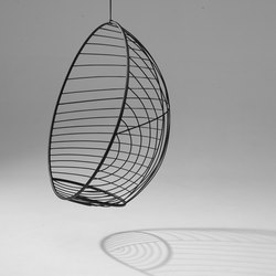 Bubble Circle hanging swing chair | Garden chairs | Studio Stirling
