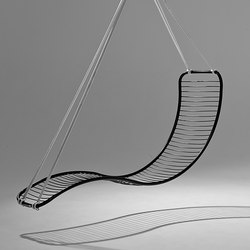 Pod hanging swing chair | Garden chairs | Studio Stirling