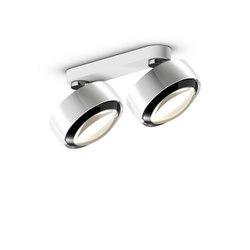 Più R alto doppio | Ceiling-mounted spotlights | Occhio