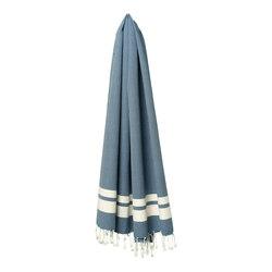 Classique L bleu ciel | Towels | fouta