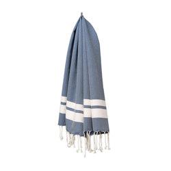 Classique M bleu foncé | Towels | fouta