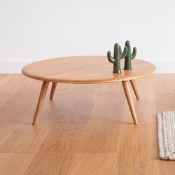 Fox Coffee Table Round M | Tables d'appoint | 366 Concept