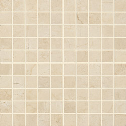 Anthology Marble Mosaico Classic Royal Marfil | Ceramic mosaics | EMILGROUP