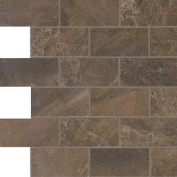 Anthology Marble Mosaico Wall Wild Copper | Ceramic mosaics | EMILGROUP