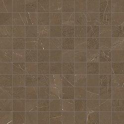 Marmore Mosaico Canova Marrone | Ceramic mosaics | EMILGROUP