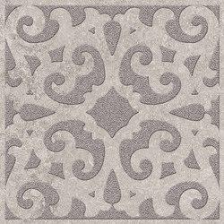 Petra Arabesco Ang. Argento/Silver Grey | Tiles | EMILGROUP