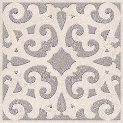 Petra Arabesco Ang. Argento/Silver White | Carrelage céramique | EMILGROUP