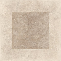 Petra Decoro Quadri Beige/Nut | Ceramic tiles | EMILGROUP