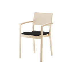 Alias | armchair raised | Visitors chairs / Side chairs | Isku