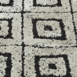 Gleam black and white | Rugs | Miinu