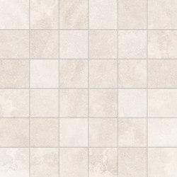 Petra Mosaico 5x5 White | Mosaicos de cerámica | EMILGROUP