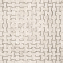 Petra Intreccio White | Ceramic mosaics | EMILGROUP