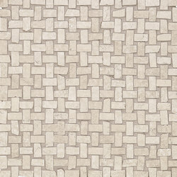 Petra Intreccio Beige | Ceramic mosaics | EMILGROUP
