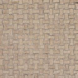 Petra Intreccio Nut | Mosaici ceramica | EMILGROUP