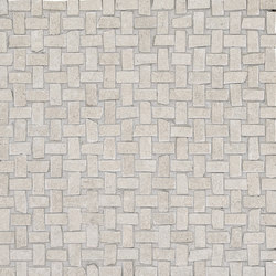 Petra Intreccio Grey | Ceramic mosaics | EMILGROUP