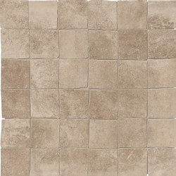 Petra Mosaico Petra 5x5 Nut | Ceramic mosaics | EMILGROUP