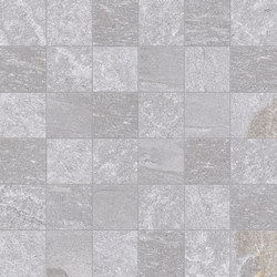 Tracce Mosaico 5x5 Grey | Ceramic mosaics | EMILGROUP