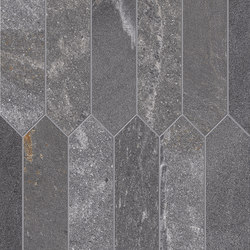 Tracce Mosaico Arrows Dark Grey | Mosaïques céramique | EMILGROUP