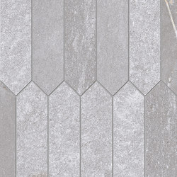 Tracce Mosaico Arrows Grey | Mosaïques céramique | EMILGROUP