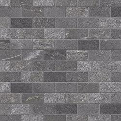 Tracce Mosaico Domino Dark Grey | Keramik Mosaike | EMILGROUP