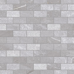 Tracce Mosaico Domino Grey | Mosaicos de cerámica | EMILGROUP