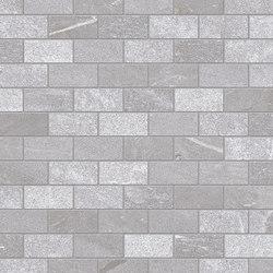Tracce Mosaico Domino Grey | Ceramic mosaics | EMILGROUP