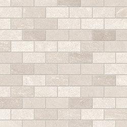 Tracce Mosaico Domino Ivory | Mosaicos de cerámica | EMILGROUP
