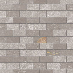 Tracce Mosaico Domino Taupe | Mosaïques céramique | EMILGROUP